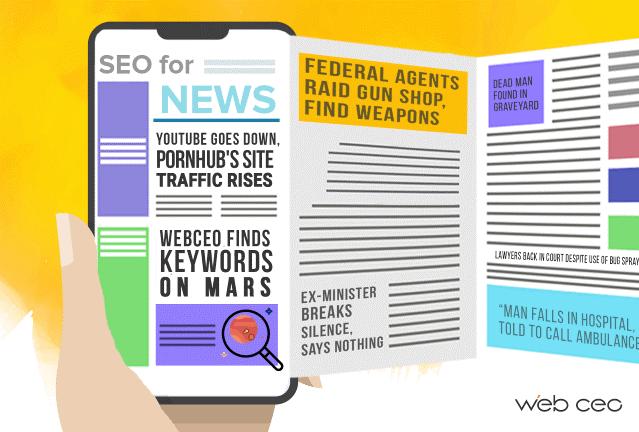 راهکارهای بهینه سازی سئو سایت های خبری