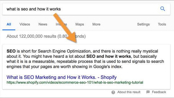 دلیل اهمیت featured snippet گوگل چیست و چه تاثیری بر سئو می گذارد؟