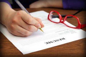 نوشتن رزومه کاری برای استخدام شدن